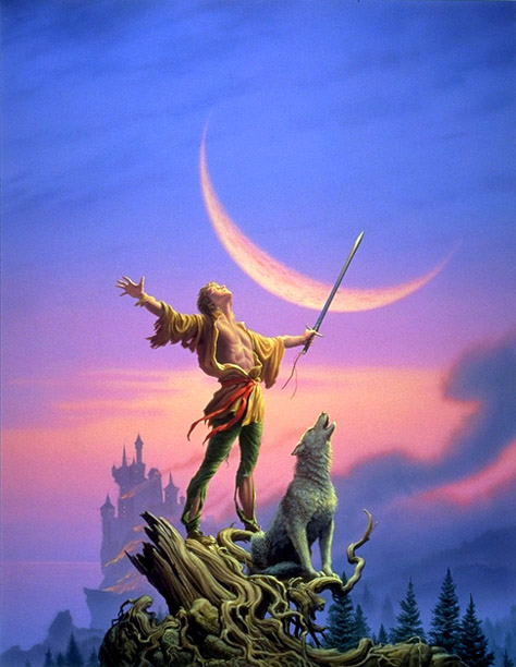 Royal Assassin cover by Michael Whelan