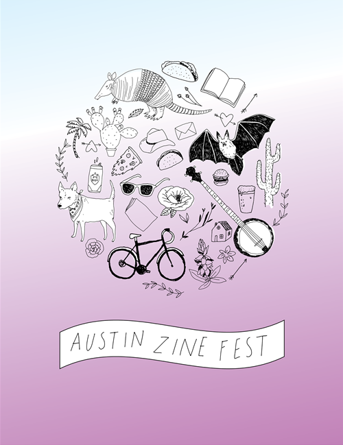 Austin Zine Fest 2014