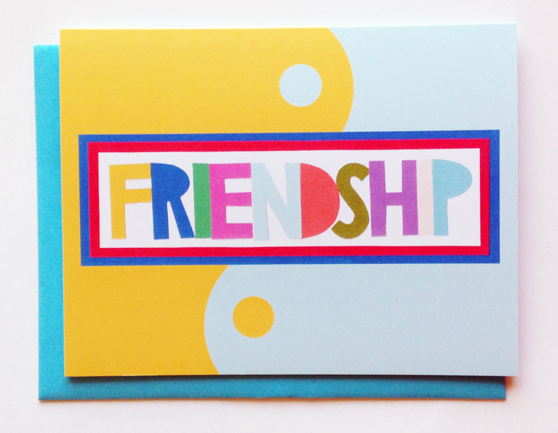 Glademade Friendship Card