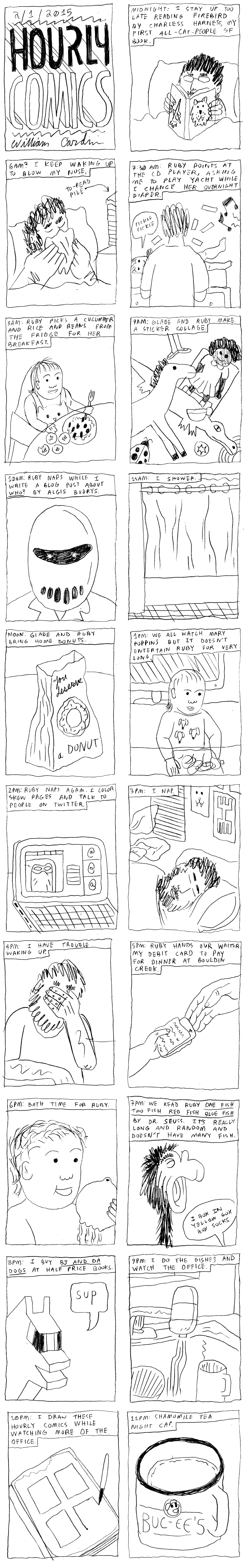 2015 Cardini Hourly Comic
