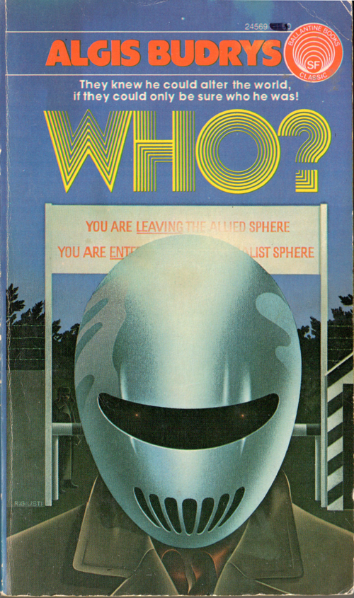Who by Algis Budrys, cover by Bob Giusti