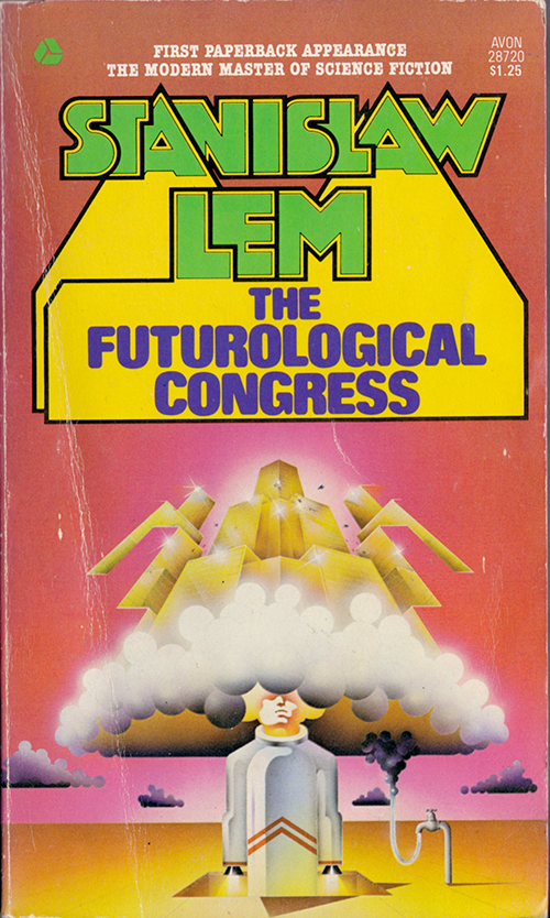 The Futurological Congress by Stanislaw Lem, cover by Stanislaw Fernandes