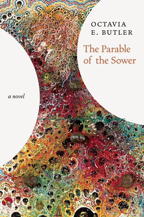 Cover for a new hardcover edition of Parable of the Sower by Octavia Butler