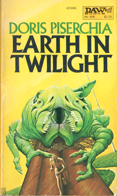 Earth in Twilight by Doris Piserchia, cover by Wayne Barlowe